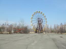 Le parc d'attraction de Pripyat, aujourd'hui déserté