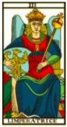 L'impératrice - Tarot de Marseille